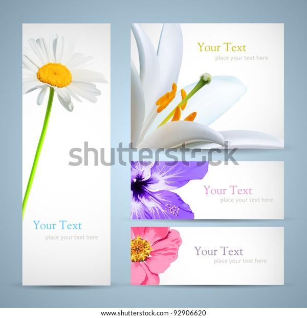 Brochure Design Background Flyer Birthday Invitation Stock