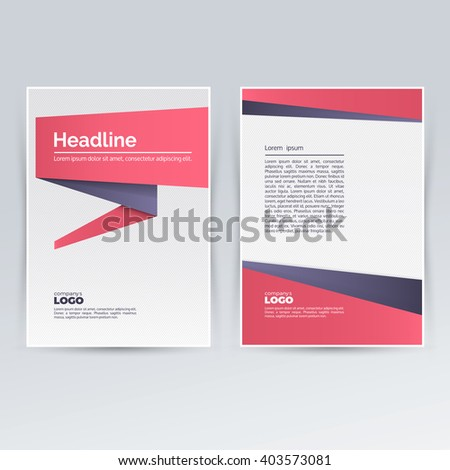 brochure design template for advertising creative leaflet pamphlet flyer cover for corporate and