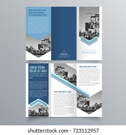 Tri Fold Brochure Images Stock Photos Vectors Shutterstock - Fold brochure template