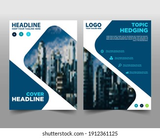 Brochure. Flyer Design. Leaflets Template. Cover Book and Magazine. background for business design, Annual Report Editable Vector illustration