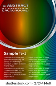 brochure, flyer, magazine cover. red yellow blue Design Template. Card Business Set. Folder. banner. label. Leaflet Abstract Technology background for computer graphic website internet. text box.
