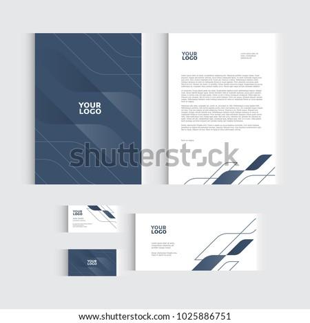 Brochure Flyer Report Vector Business Template Image Vectorielle De