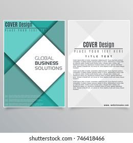 Brochure Layout design template illustration vector