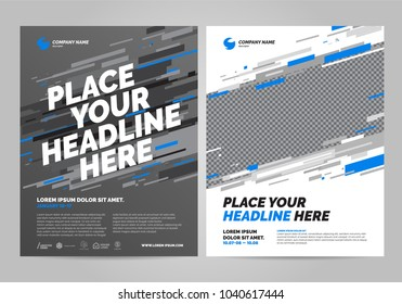 Brochure Layout template design. Can be adapt to Brochure, Annual Report, Magazine, Poster, Flyer, Banner, Website.