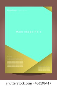 Brochure Poster and magazine vector design Layout template