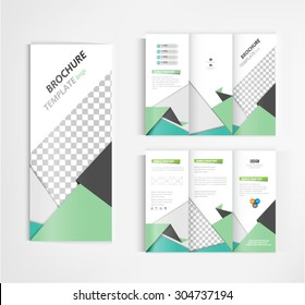 brochure template design vector.