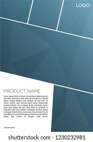 Brochure Template vector graphic