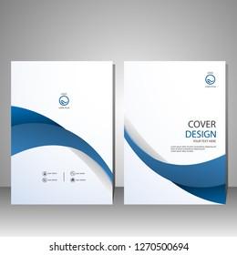 Brochure template.magazine.modern flyer design.vector illustration