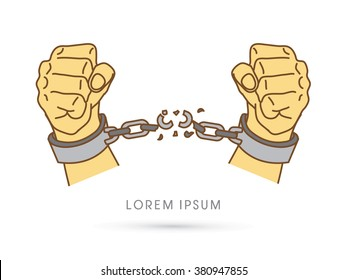 Shackles Stock Vectors Images Vector Art Shutterstock Rh Com Jonah Clip Man In Chains