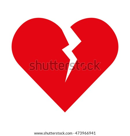 Broken Heart Symbol Breakup Love Pictures Picturesboss