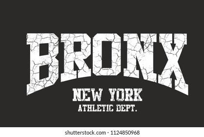 bronx graphic design vector art