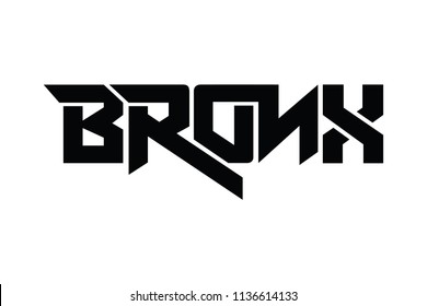 Bronx typography design vector, for t-shirt, poster and other uses