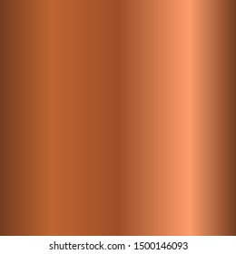 Bronze Copper Metal foil abstract background with modern vector gradient style, Vector Illustration eps 10