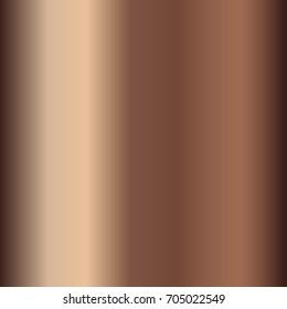 Bronze gradient. Beige gradient illustration for backgrounds, cover, frame, ribbon, banner, coin, label, flyer, card, poster etc. Vector template EPS10
