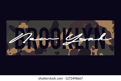 Brooklyn Slogan graphic