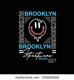 brooklyn streetwear division simple vintage