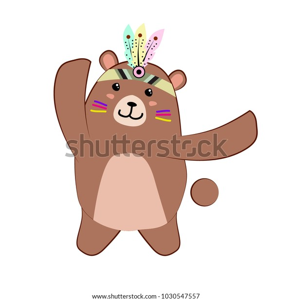 brown-bear-cute-dancing-animal-600w-1030