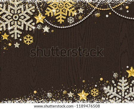 brown-christmas-wooden-background-frame-