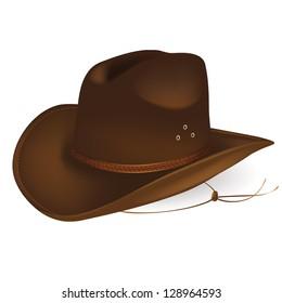7dd768554e2a91 Leather Cowboy Hat Images, Stock Photos & Vectors   Shutterstock