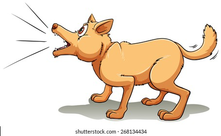Dog Barking Images, Stock Photos & Vectors   Shutterstock