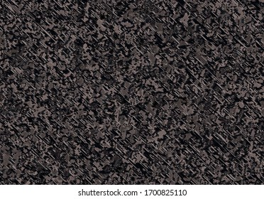 Brown fabric, seamless textile background, embroidery texture