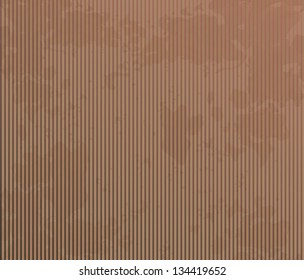 Brown grunge background with thin stripes.