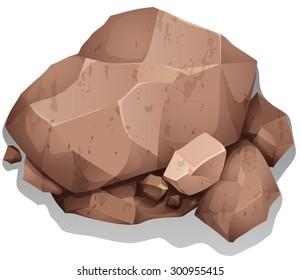 Cartoon Rocks Images, Stock Photos & Vectors | Shutterstock