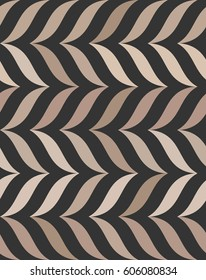 Brown seamless pattern, wave, coffee background