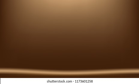 Brown and tan mesh gradient vector background with copy space