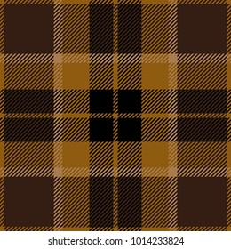 Brown Tartan Plaid Scottish Pattern