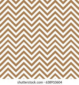 Brown and white chevron pattern background