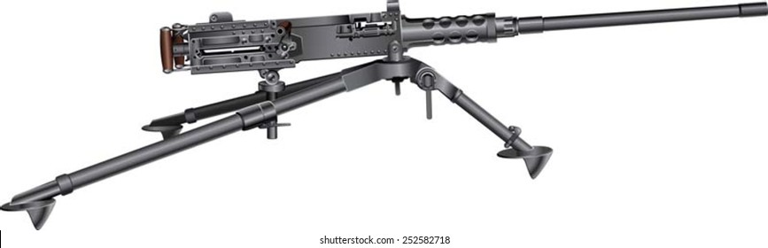 Browning m2 heavy machine gun
