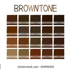 Brown Color Palette Images Stock Photos Vectors Shutterstock