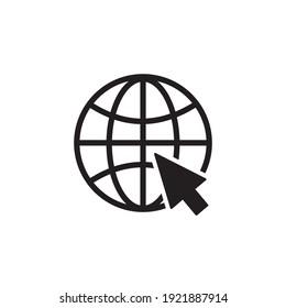 icône navigateur symbole image vectorielle