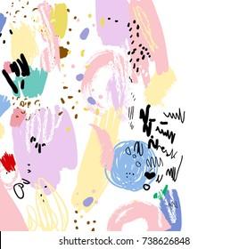 Colour Draw Flowers Images Stock Photos Vectors