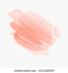 peach pastel background images stock photos vectors shutterstock https www shutterstock com image vector brush painted watercolor background vector pastel 1311189239