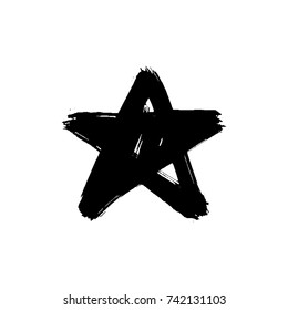 Brush star black