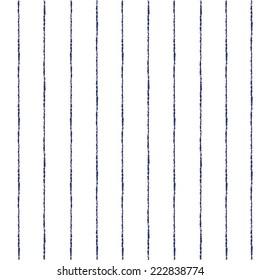 Brush stripes vector seamless pattern