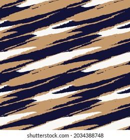 Brush stroke fur pattern design for fashion prints, homeware, graphics, backgrounds