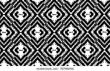 Brush stroke pattern. Background. Kaleidoscope.