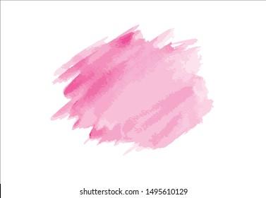 brush stroke watercolor background.vector creative illustration