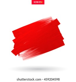 Brush strokes, roller on the surface for advertising or your text. Expression of metallic paint with oil or acrylic. Perfect design for headline, logo and sale banner.