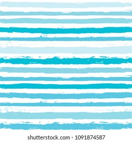 brush strokes Seamless pattern. vector striped summer background. ink Paint Lines. sailor stripes Modern trendy paintbrush line. maritime stripes backdrop