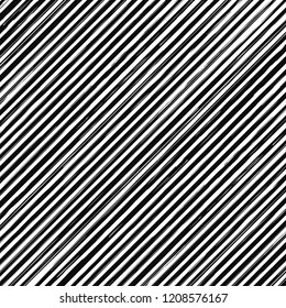 Brush strokes. Vector pattern with line