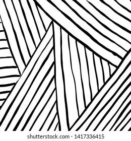 Brush texture pattern. Grunge vector.