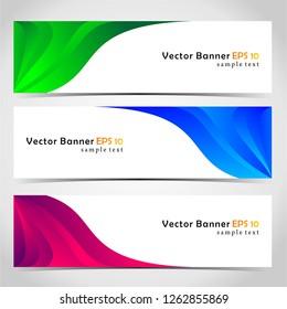 brush vector banner
