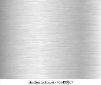 Brushed metal texture background. Vector illustration