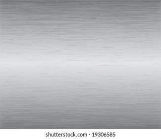 Brushed Metal Texture Vector Illustration