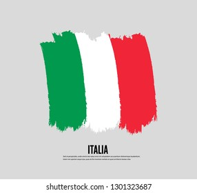 Brushfor Italia National Flag