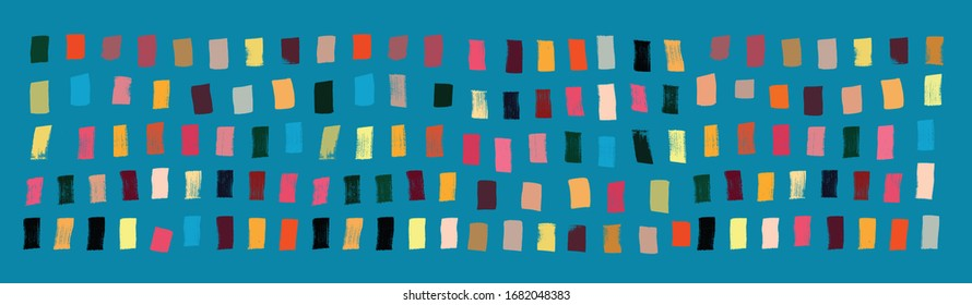 Brushstroke Pattern, Grunge Texture, Painting, Art, Decorative, Modern Art, Abstract Pattern, Music Concept, Brushstroke Texture, Colorful, Vector, Gestural, Musical Representation, Web Banner